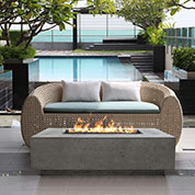 Fireplaces and fire pits for today's hospitality industry